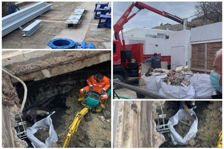 Mykonos – Φ. Βιγλιάρης: Επί ποδός η Δ.Ε.Υ.Α. Μυκόνου για τον καθαρισμό και την συντήρηση του αντλιοστάσιου της Αλευκάνδρας