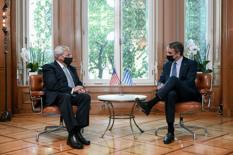 PM Mitsotakis: Ελληνοαμερικανικές σχέσεις, κλιματική αλλαγή και Αφγανιστάν στο επίκεντρο της συζήτησης [Video]