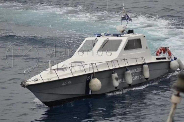 Kythnos: Επιχείριση διάσωσης 6 ατόμων στην Κύθνο, εν μέσω 7 bf – Εγκατέλειψαν καταμαράν