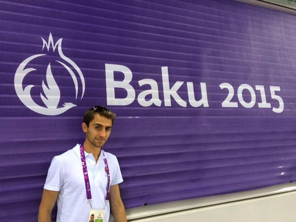 , Στο Μπακού του Αζερμπαϊτζάν ο Γιώργος Μίνο στο Ευρωπαϊκό Πρωτάθλημα Εθνικών Ομάδων