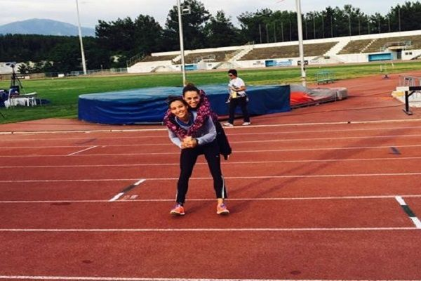 , 4in the composite nationwide league Emmi Ioakimidou – 6in the New with big personal record Francesca Armaou