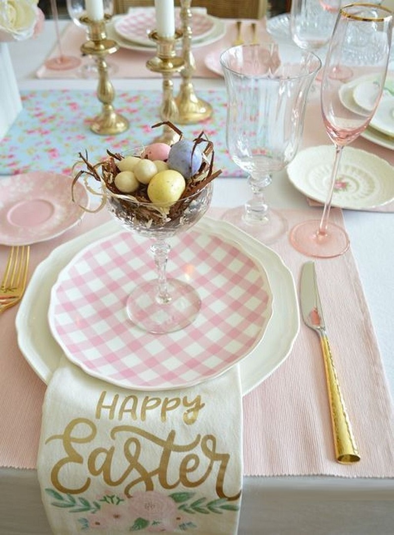 , Easter table: tips to not overdo!!