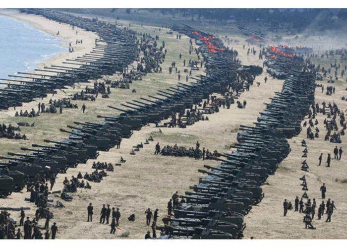 , Σύννεφα πολέμου πάνω από τη Β. Κορέα: Τι ετοιμάζει ο Τραμπ