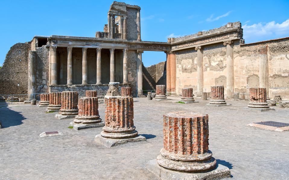 , H Delos los pasos de Pompeya