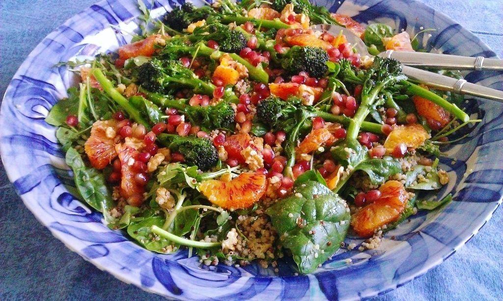 , saladas quaresmais: dar sabor e cor para Lent!!