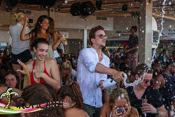 , Tropicana Champagne shower party!! [All the Upcoming Events]