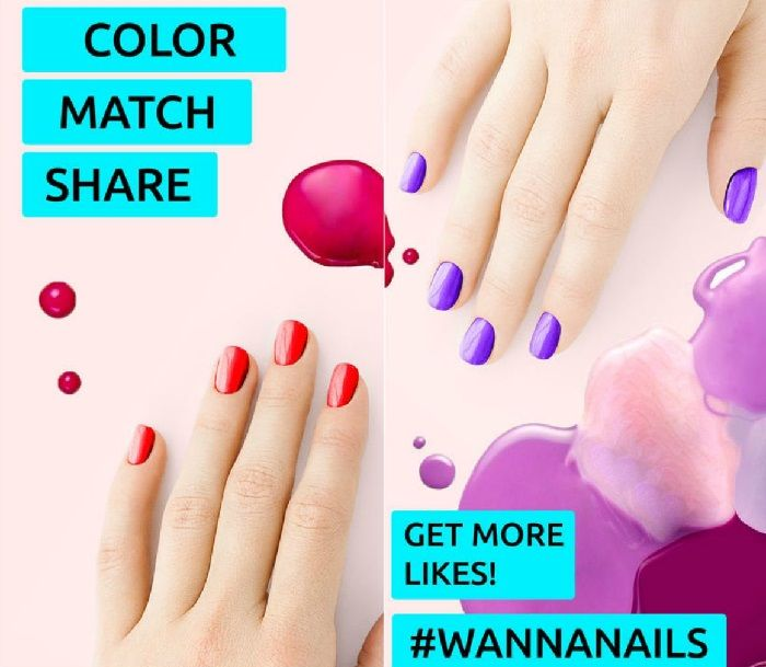 , WANNA NAILS!! The app that shows what our color matching nails!! [Video]