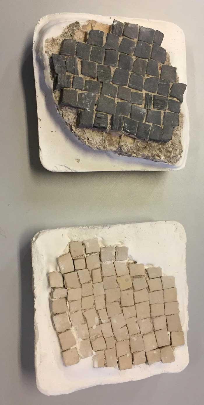 , Репатриация три порции мозаики Тилоса & Афины после немецкой инициативы