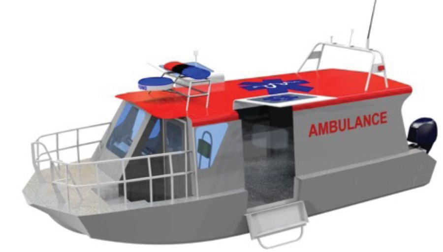 , Προμήθεια τριών πλωτών ιατρείων για έκτακτα περιστατικά και πενήντα περιπολικών τύπου Pick-up από το υπ.Ναυτιλίας
