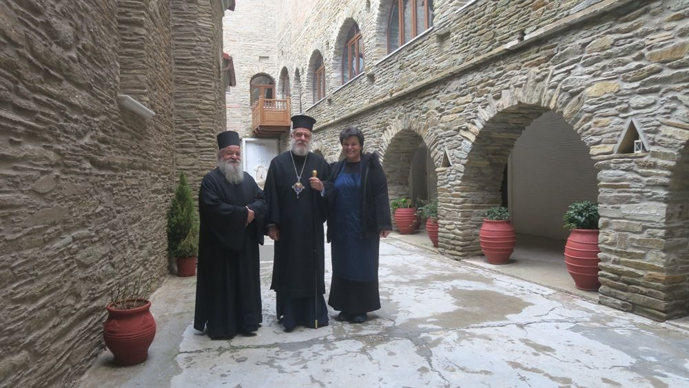 , Visit Reverend Dorotheus B historical monasteries of Andros
