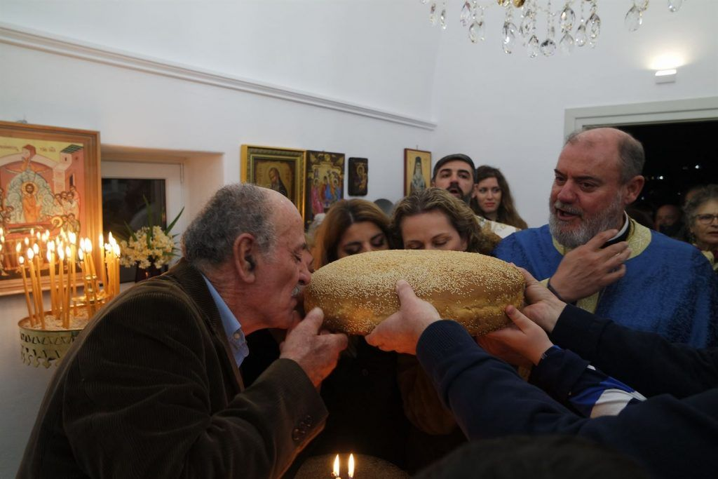 , «Anixi Otel» Saint Anthony Bayram bayram vespers, Korfos Mykonos