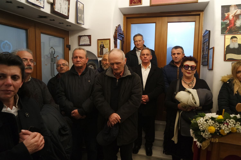 , Святой Всенощная на память блаженного Anthimos и Джеймс Агиос Минас Миконос [фото + видео]