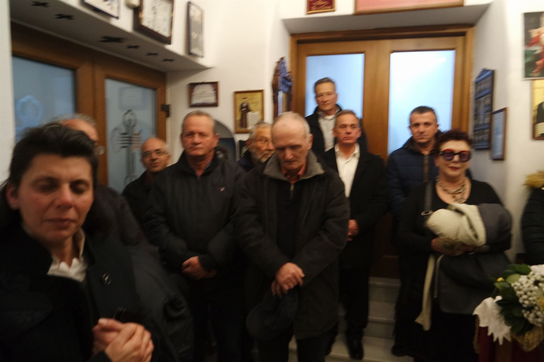 , السهر القدس على ذكرى المباركة Anthimos وجيمس أجيوس ميناس ميكونوس [صور + فيديو]