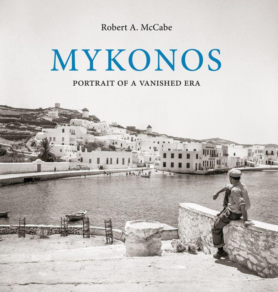 , Миконос Книга Роберта McCabe подписывающегося на фотографирование Показать