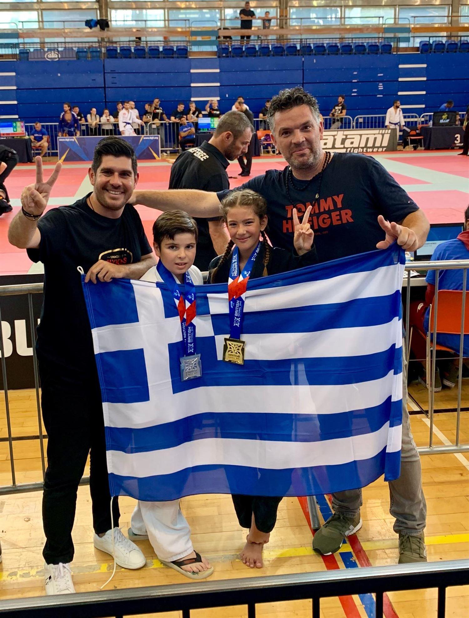 , Gourikos the Atzamoglou – six Gold, a Silver and a Bronze for Mykonos International Games Brazilian jiu-jitsu in London