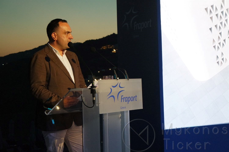 , Mikonos beyaz heykel, Fraport Yunanistan tarafından yeni Mikonos havaalanının mimari tasarım. (Resimler + vids)