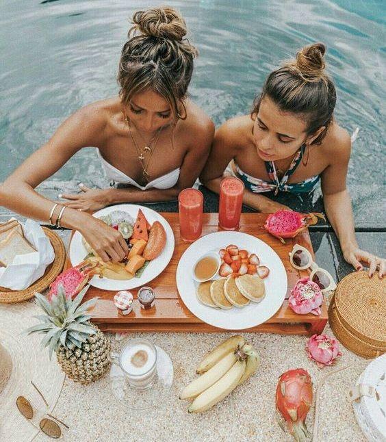 , Manger sur la plage!! 10 «Intelligent» snak limiter les envies!!