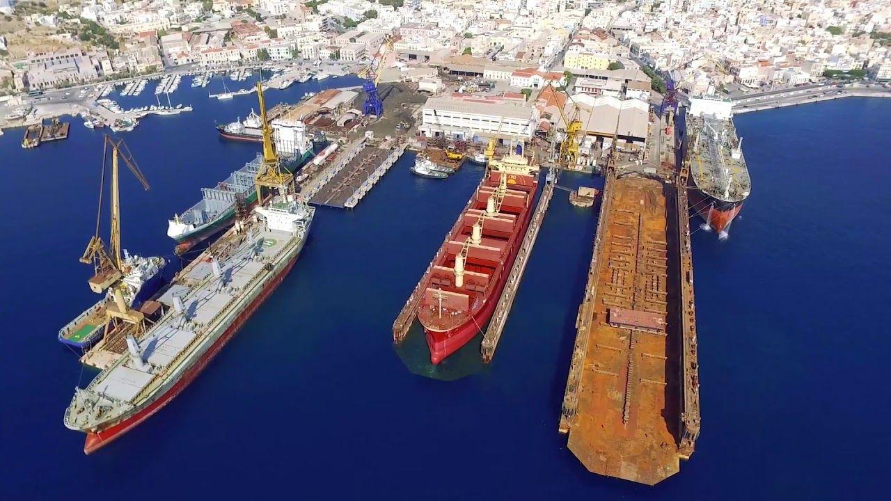 , Νεώριο Σύρου: Τα πρώτα σημάδια ανάκαμψης!! Φεύγουν Πλοία από τα τουρκικά ναυπηγεία και πηγαίνουν στο Νεώριο