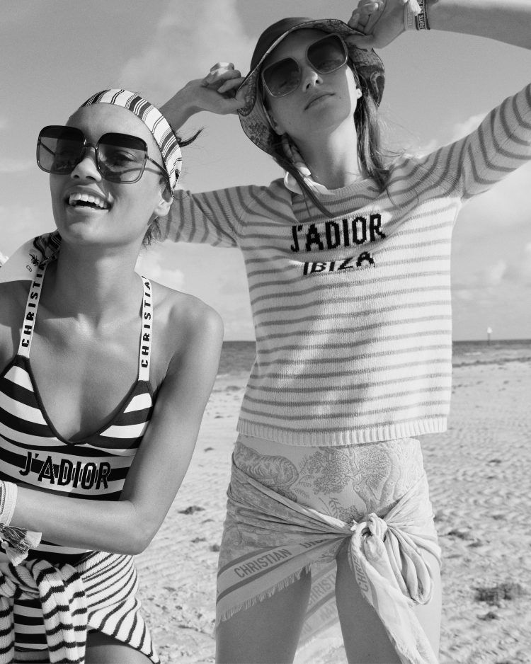 ", Mykonos Dior beachwear!! carefree Romance & airy Lines!! New beachwear collection ""Dioriviera"" Fall 2019!! (Video)"