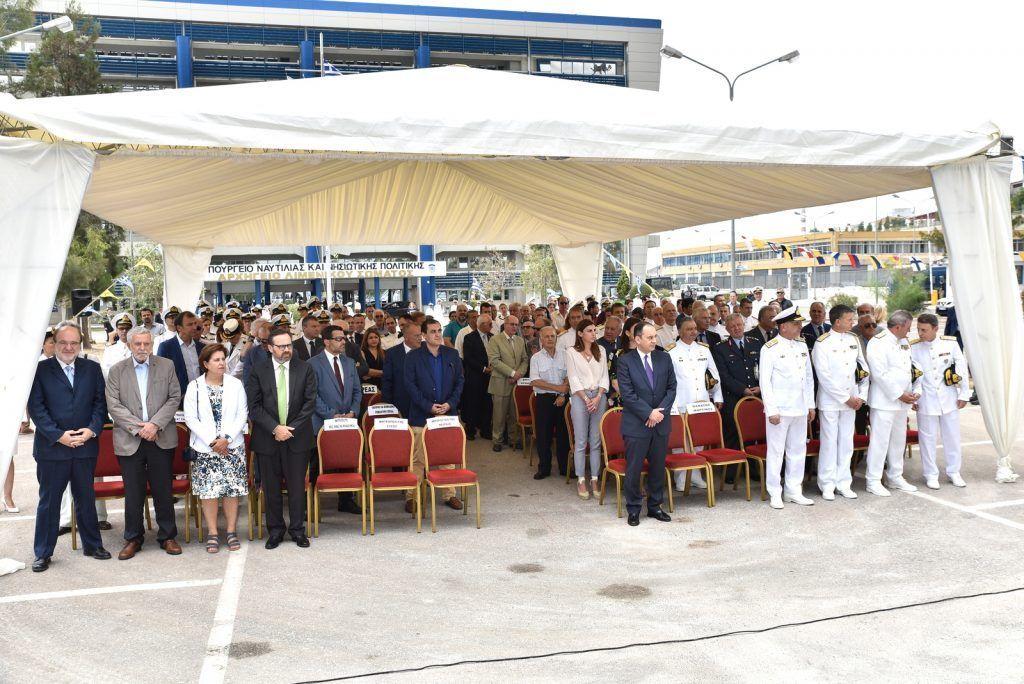 , Ο Σεβασμιώτατος Δωρόθεος Β' στην τελετή Θυρανοιξίων του Ι. Παρεκκλησίου Αγίου Νικολάου Λιμενικού Σώματος – Ελληνικής Ακτοφυλακής