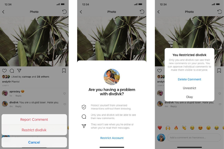 , Το Instagram με νέα Anti-bullying εργαλεία, κατά των κακοπροαίρετων σχολίων!!
