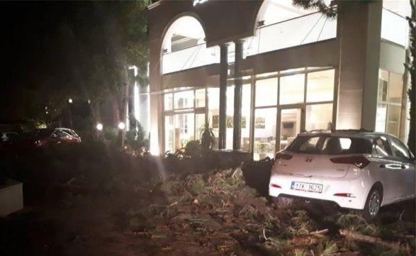, Chalcidice: Fotos de divulgação 6 morto, dezenas de feridos, desastres incalculáveis (vídeos)