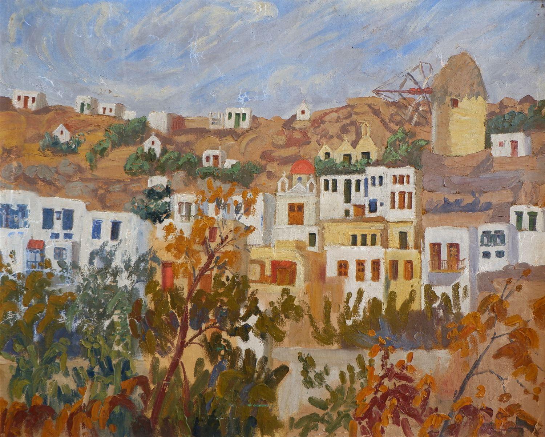 , Die KDEPPAM wird der Beitrag der Mary Inglesi in der Entwicklung der postbyzantinischen und modernen griechischen Malerei