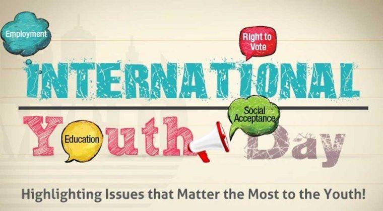 """, 12 يوم أغسطس الدولية للشباب: #يوم الشباب 2019 في """"التعليم تحويل"""" – """"التحول من التعليم"""""""