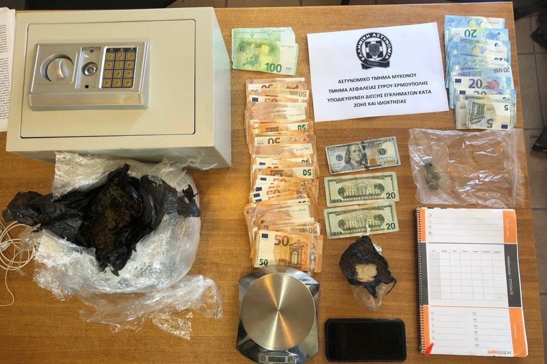 , Αστυνομική επιχείρηση με συλλήψεις, πραγματοποιήθηκε στη Μύκονο για την καταπολέμηση της διάδοσης των ναρκωτικών