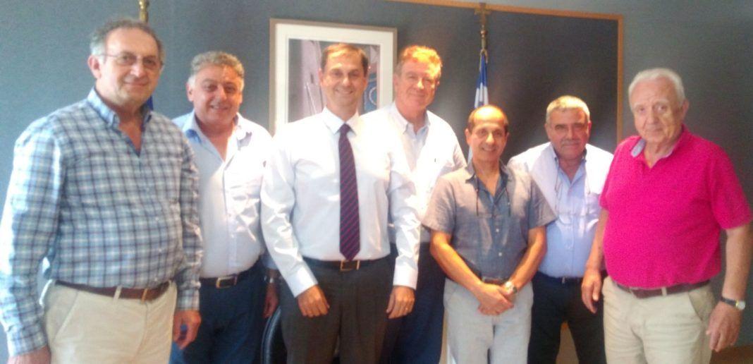 , Συνάντηση με τον υπουργό Τουρισμού, οι Ομοσπονδίες Τουριστικών Καταλυμάτων