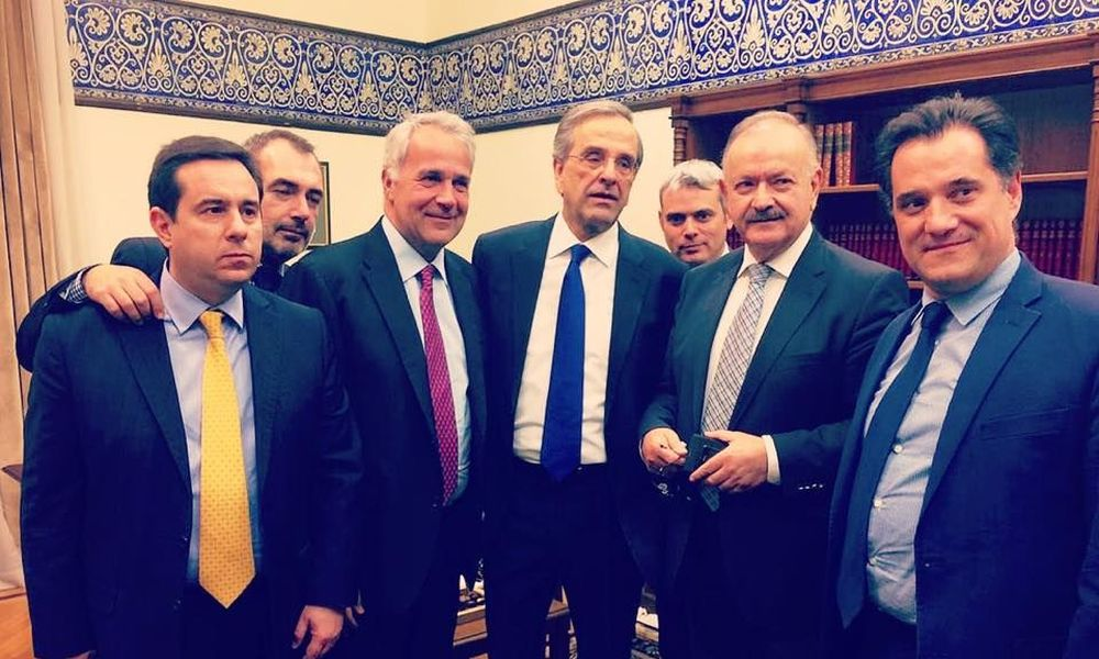 """, The Dedicated Samaras: What MPs affects former Prime Minister!! The """"hard"""" and the """"influences"""" (Names)"""