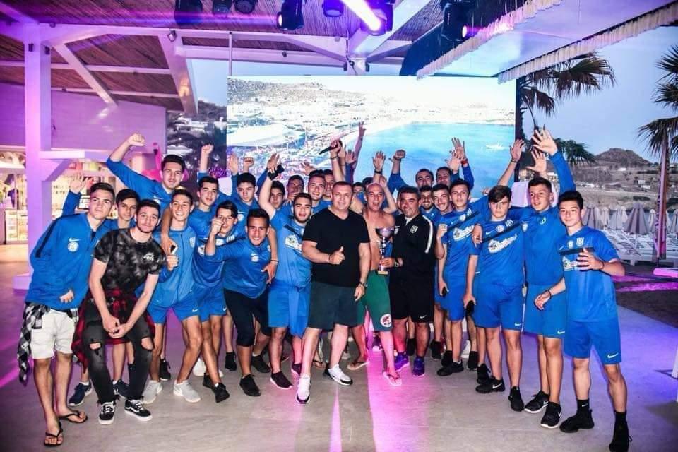 , Plötzlicher Rückzug von Stamatis Ring von AO Mykonos - Neue Schocks in Team-Management