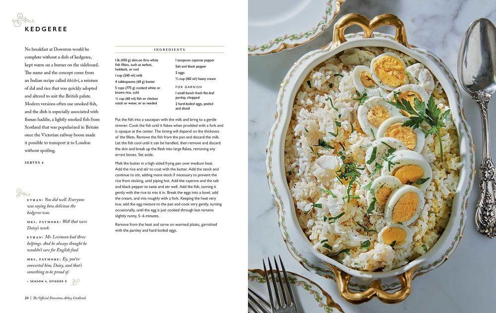 , Официальный Даунтон Abbey Cookbook: Οι 100 самые популярные рецепты из серии «Даунтон аббатство»