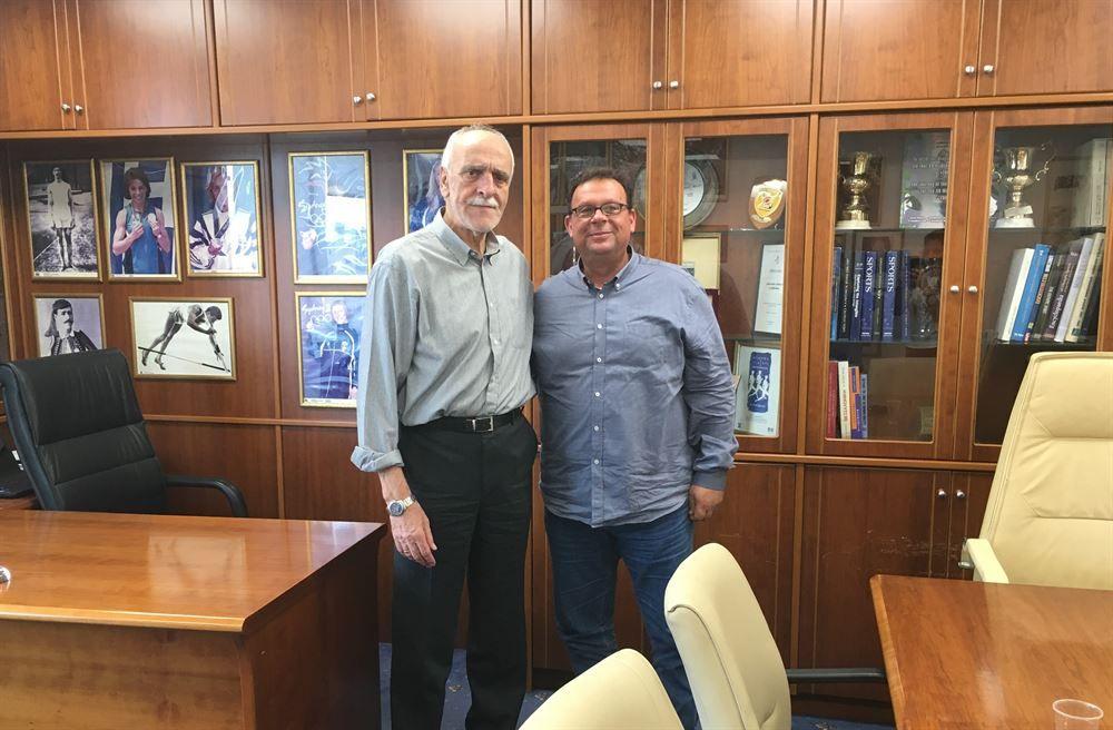 , Ο Δήμαρχος της Μήλου Μανώλης Μικέλης συναντήθηκε με τον Γενικό Γραμματέα του ΣΕΓΑΣ Βααίλη Σεβαστή