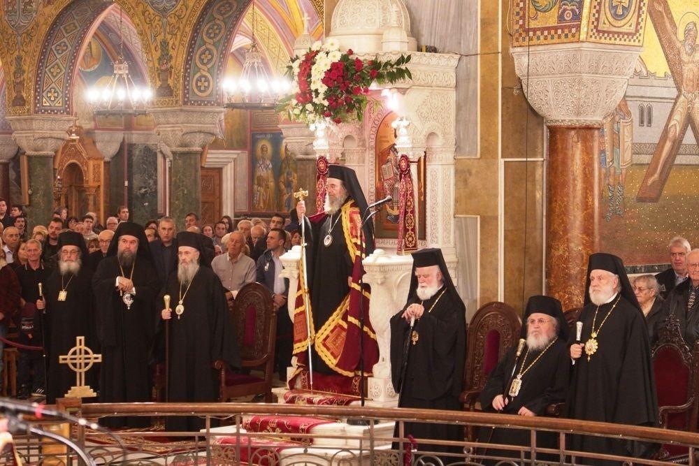 , Ο Σεβασμιώτατος κ. Δωρόθεος Β' στην Αποστολική πόλη των Πατρών, που τιμά τον Πολιούχο της