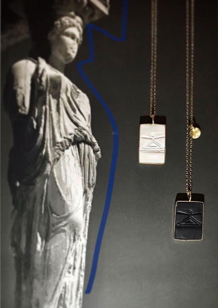 , Delos o encanto de Zeus + Dione para 2020!! 9 Jóias inspiradas mosaico na Casa Dolphin [pcs]