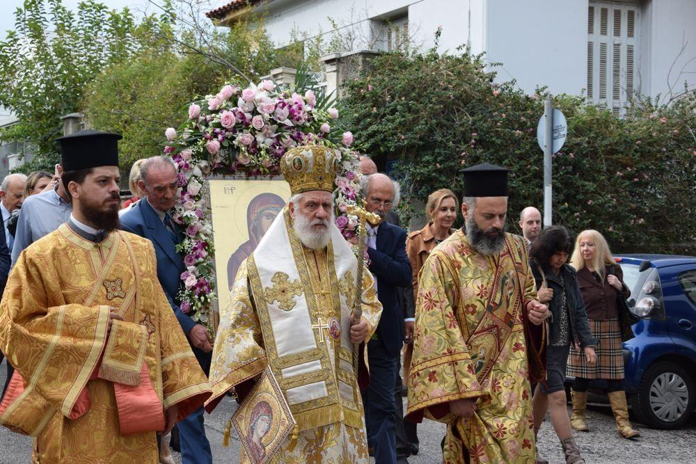 , Παρουσία του Σεβασμιωτάτου Δωροθέου Β' και του Δημάρχου, η ετήσια εορτή της Αδελφότητος Ανωμεριτών Μυκόνου [Εικόνες]