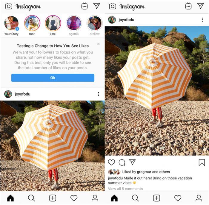 , instagram «bitirmek» etkileyenler; beğeniler karlarını etkileyecek gizlemek için nasıl