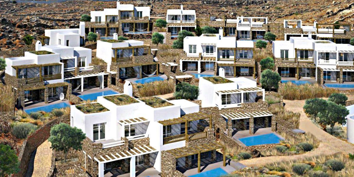 """, Che cosa porta il """"matrimonio"""" Kokkalis con l'inglese!! Il """"atterraggio"""" a Mykonos, Complesso di lusso a Kalo Livadi hotel + Villas!!"""
