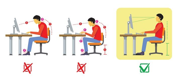, neck, consequence of sedentary work!! 10 tips to prevent & deal!!