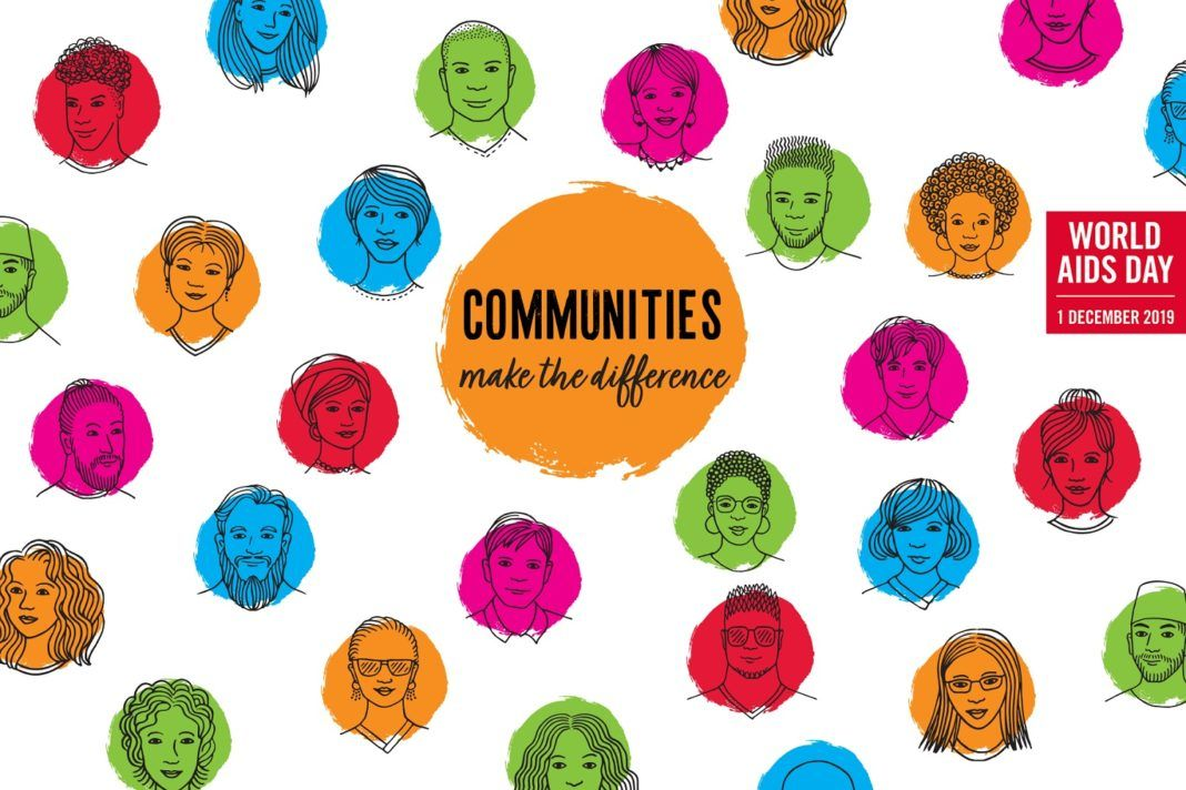""", 1η Δεκεμβρίου 2019: Διεθνής Ημέρα κατά του HIV/AIDS – Με θέμα """"Communities make the difference"""""""