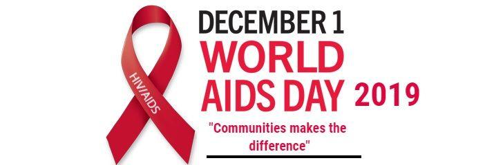 """, 1十二月 2019: 国际禁止艾滋病毒/艾滋病 – 上 """"社区赚取差价"""""""