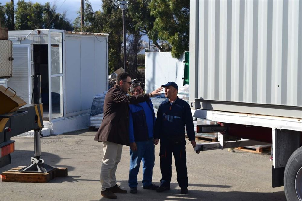 , Tinos: En funcionamiento la primera desalinización de agua marina por ósmosis inversa dynamikotitas1.000 m3 / día