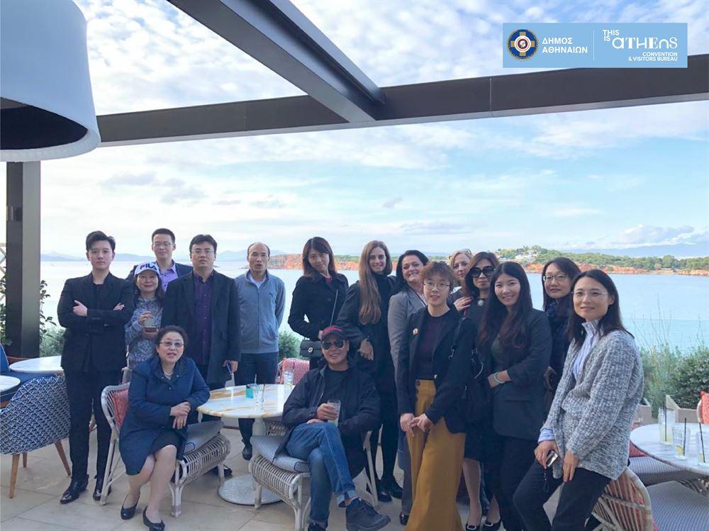 , Δράσεις προσέλκυσης του Κινεζικού συνεδριακού τουρισμού στην Αθήνα