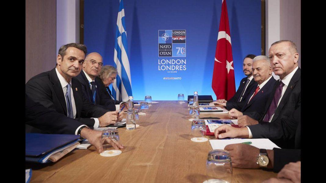 , Ολοκληρώθηκε η συνάντηση του Κυρ. Μητσοτάκη με τον Τ. Ερντογάν