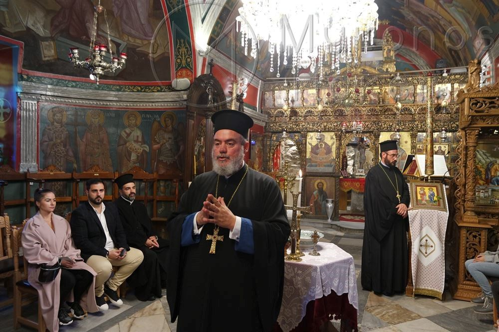 , Blessing start of Mykonos Sunday schools in Great Panagia (pics & vids)